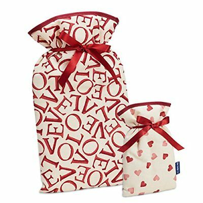 BLUE BADGE EMMA BRIDGEWATER BORSA DELL' ACQUA CALDA SET REGALO Nuovo Red medium