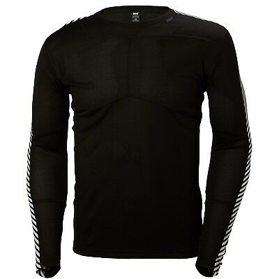 Helly Hansen Men's Lifa Light Crew L/S Top - Black