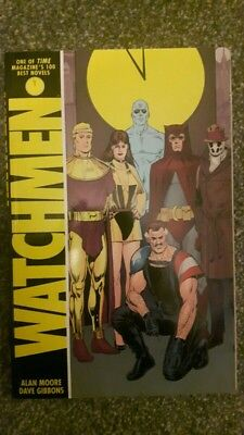 Watchmen graphic novel Alan Moore Dave Gibbons