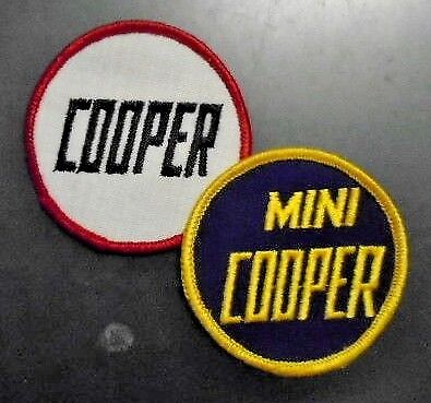 Mini Cooper Jacket Patches