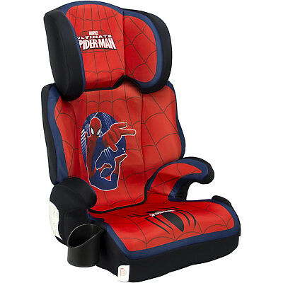 KidsEmbrace FunRide Booster Car Seat Ultimate SpiderMan Top Quality Marvels