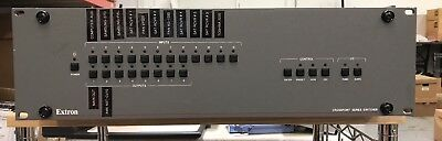 Extron CrossPoint Ultra 84HVA Wide Band Switcher Used Tested/working