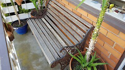 Garden Bench Rustic  -  Display Piece