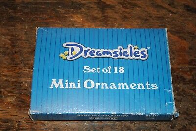 Box of 18 Dreamsicles Mini Christmas Ornaments   1999