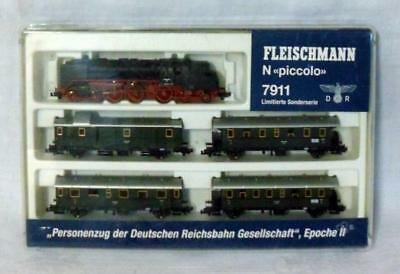 Fleischmann N Scale Piccolo #7911 Train Set WWII German Markers