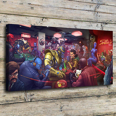 Marvel Villains Paintings HD Print on Canvas Home Decor Room Wall Art Poster