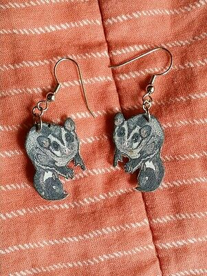 Sugar Glider Dangle Earrings