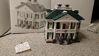 Dept. 56 Original Snow Village American Architecture Southern Colonial, 1991