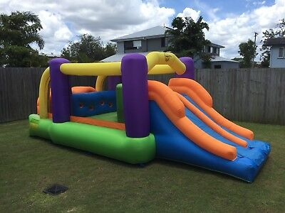 Obstacle Course Bouncing Castle