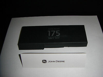Vintage JOHN DEERE Tractor Brand 175 Years Anniversary Collectible Pen with Box