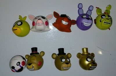 Five Nights at Freddy's MyMoji figure assortment (Springtrap, Foxy, Mangle, etc