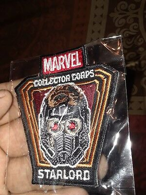 Marvel Collector Corps Guardians of the Galaxy Vol 2 Star-Lord patch only