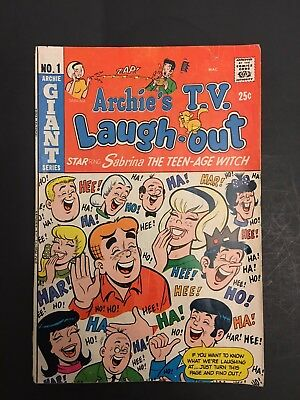 Archies Tv Laugh Out # 1 Vg-F Sabrina Teen Age Witch