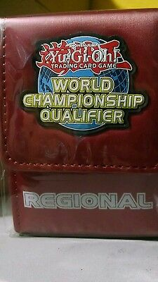 YuGiOh WCQ Regional 2015 TOP 4 official Deck Box Red
