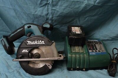 Makita DCS551 18V Cordless Brushless Metal Cutter W/ Battery & Charger
