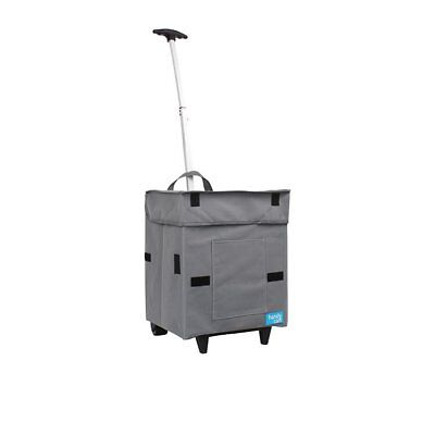 Handy Cart: collapsible cart with waterproof coat and ergonomic design
