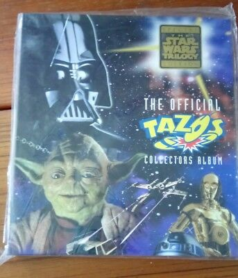 Star wars Tazo's and album, near Complete set