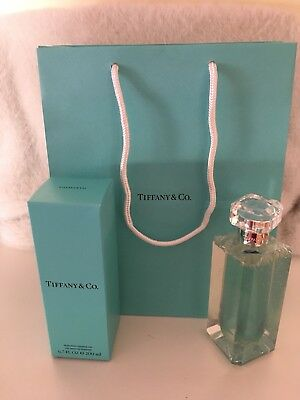 TIFFANY & Co. 200ml Perfume Shower Bath Gel & Boutique Bag BNIB  AUTHENTIC