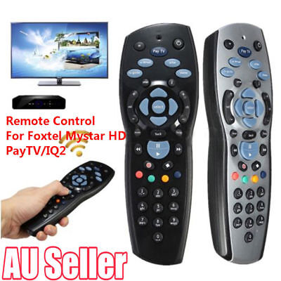 New Aussie Replacement Remote Control For Foxtel Mystar HD PayTV IQ2 IQ3 S4