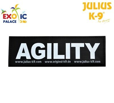 Julius-K9 2 Etichette In Velcro Patch Agility Per Pettorina Cane Idc Belt Power