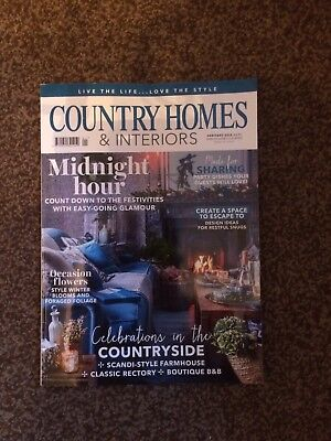 Country Homes And Interiors Magazine - January 2018