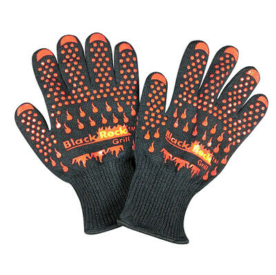 Heat & Temperature Resistant Gloves 500°C BBQ Aga Oven Silicon Kevlar Safety