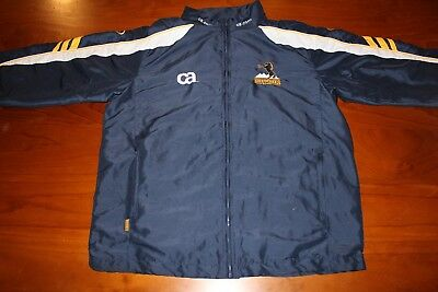 Brumbies Act Rugby Union Authentic Player Issued Zip-Up Jacket, Size M