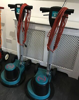 Truvox Orbis Floor Buffer Polisher Scrubber x2 200 and 200/400 Duo