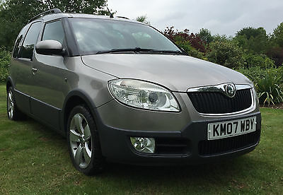Skoda Roomster Scout  1.9 TDI PD 5 Door 2007 FULL SERVICE HISTORY **99p Start**
