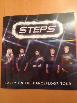 Steps Party On The Dance floor Tour Programme 2017