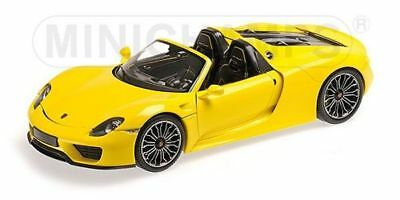 2013 Porsche 918 Spyder Yellow Limited Edition to 504pcs 1/18 by Minichamps 1100