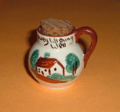 Torquay   ,  Wishing  Well  Water  Jug, Nice Example,    ( 424 )