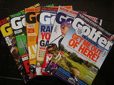 Today`s Golfer Magazines 6 Issues Jan 2017- June 2017