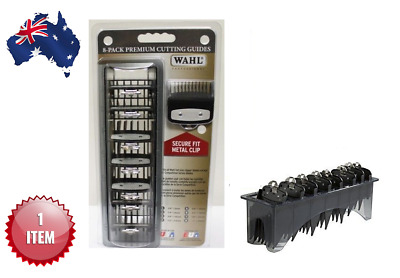 Wahl Premium Cutting Guides Attachment Combs + Organizer Tray - Aus Seller