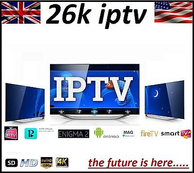48Hr Iptv Subscription Mag Android Smart Tv Fire Perfect Player Enigma No Vpn!!!