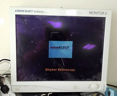 "STRYKER Vision Elect 21"" HD Monitor REF240-030-930 no power supply included"