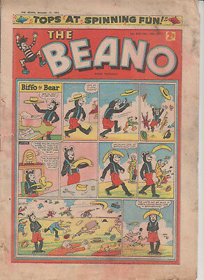 THE BEANO  NO 800       16th NOVEMBER  1957