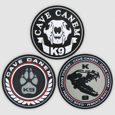 3 Pcs Patchlex K9 Pvc Morale Patch