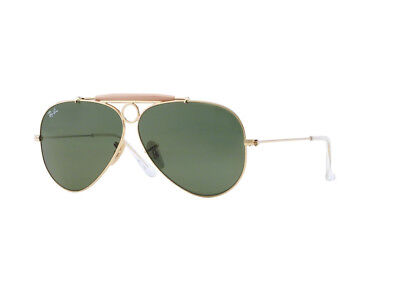 Occhiali da Sole Ray Ban Limited oro verde  RB3138 SHOOTER aviator 001
