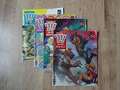 The Best of 2000AD Monthly - Issues 77, 78,79 and 81 from 1992