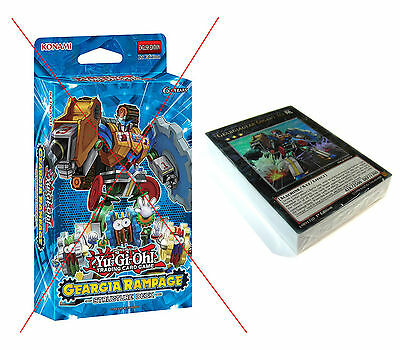 Yu-Gi-Oh! Geargia Rampage Structure Deck - No Box - Unused - Cards, Mat + Guide