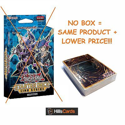 Yu-Gi-Oh TCG - NO BOX - Link Strike Starter Deck YS17 -Link Monster Cards Vrains