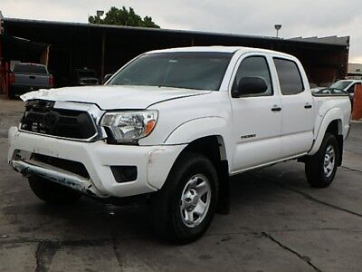 2015 Toyota Tacoma Double Cab PreRunner SR5 2015 Toyota Tacoma Double Cab PreRunner Wrecked Rebuilder Perfect Project L@@K!
