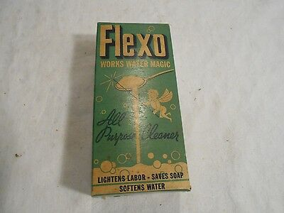 Vintage Collectible Flexo All Purpose Cleaner