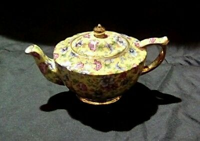 James sadler chintz teapot