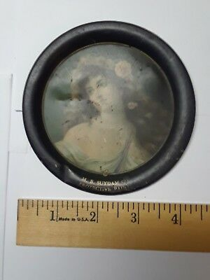 M B Suydam Co. Protective paints advertising tin litho tip tray