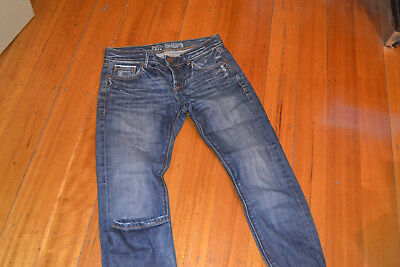 Jeanswest Selvedge Slim Straight Size 10 button fly jeans