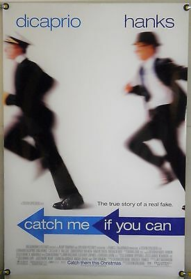 Catch Me If You Can Ds Rolled Orig 1Sh Movie Poster Dicaprio Tom Hanks (2002)