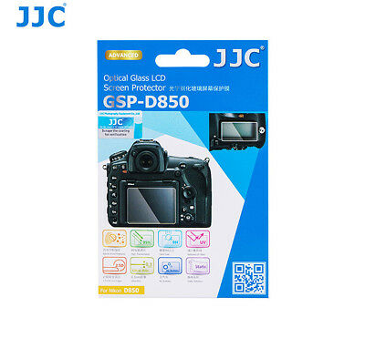 JJC GSP-D850 2.5G 9H Ultra-thin Tempered Glass LCD Protector for Nikon D850