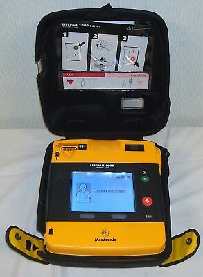 Physio-Control LifePak 1000 AED with Case